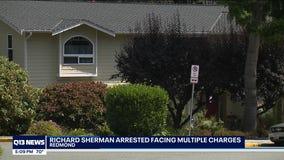 Former Seattle Seahawk, Richard Sherman, arrested on Wednesday