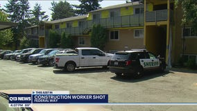 Construction worker shot at apartment complex in Federal Way