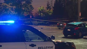 Man dead after shooting at Bellevue AMC parking lot, 1 arrested