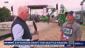 Expansion Draft for Seattle Kraken