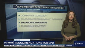 Panel issues recommendations for Seattle Police Department's protest response