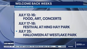 Welcome Back Weeks: enjoy music, food and art in downtown Seattle