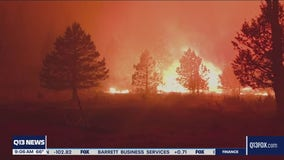 Wildfires continue to burn in Washington state with no rain in sight