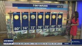 Warm summer weather continues in Western Washington