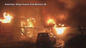 Burien woman urges public to resist using fireworks after losing her husband in house fire