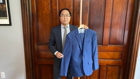 Congressman donates suit he wore to clean up after US Capitol riot to Smithsonian
