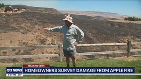 Neighbors praise 'skilled' firefighters as they tackle the Red Apple Fire in Wenatchee