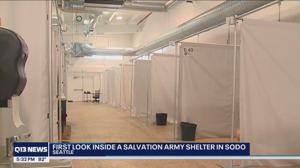 A look inside SoDo's Salvation Army shelter