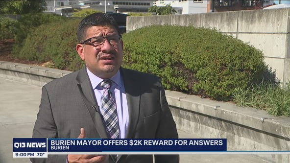 Burien mayor offers $2,000 for answers regarding political signs