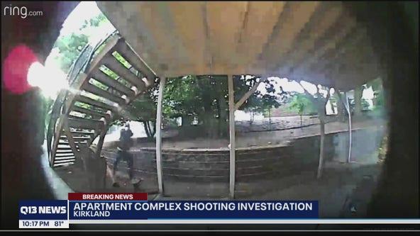 Ring camera captures bizarre shooting at Kirkland apartment complex