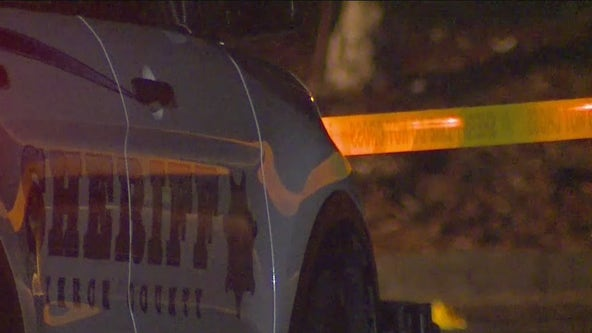 Deputies searching for suspect after man shot dead in Puyallup parking lot