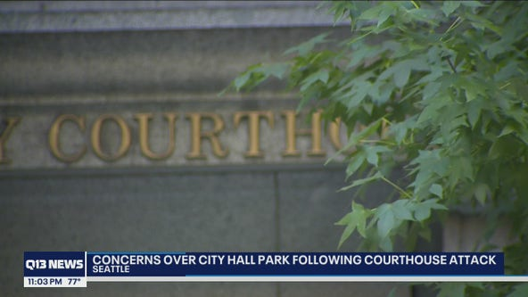 Councilmember Dunn calls for closure of courthouse to the public until homeless camp is cleared