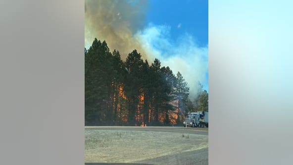 Evacuation notices lifted after brush fire along I-90 forces near Cle Elum