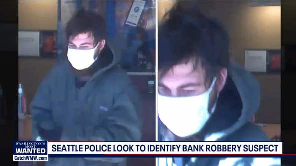 ID needed of bank robbery suspect in Capitol Hill