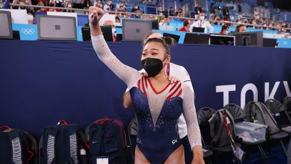 Tokyo Olympics: US gymnast Sunisa Lee wins gold in women's all-around