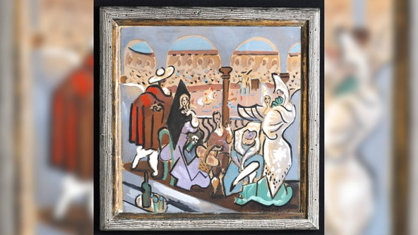Picasso painting that sat in Maine closet for 50 years sells for $150K