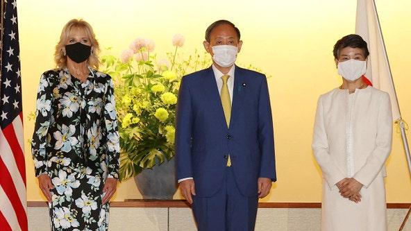 Olympics 2021: Jill Biden arrives in Tokyo, meets prime minister