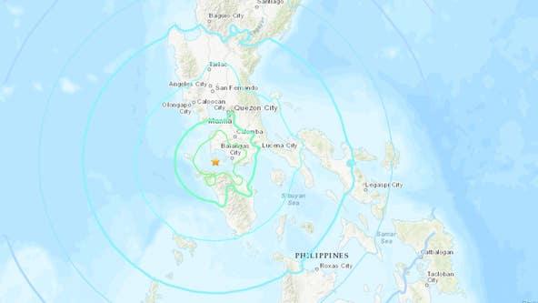Magnitude 6.7 earthquake strikes Philippines