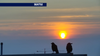 Hazy skies due to smoke from wildfires