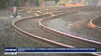 woman pleads guilty to interfering with railroad signaling system