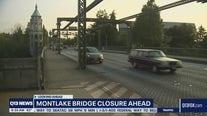 Montlake Bridge closure ahead