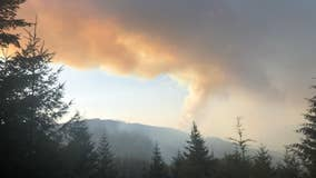 Officials: Firefighter dies while working Oregon wildfire