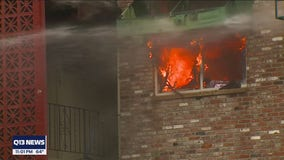 Woman shares heartbreaking story of escaping Tukwila apartment fire