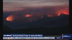 Washington state wildfire updates