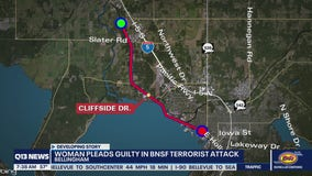 Bellingham woman pleads guilty to terror charge on train tracks