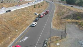 1 person killed in rollover crash on I-5 in Tacoma