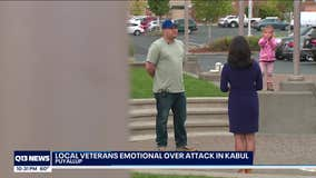 Local veterans heartbroken, mourning the loss of service members in Kabul