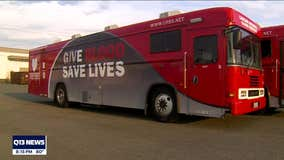 Blood drive canceled due to vehicle battery theft in Pierce County