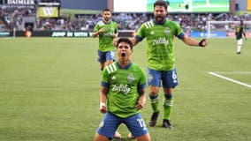 Sounders now first after 2-1 win over Sporting KC
