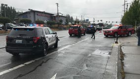 Pedestrian hit, killed by car pulling out of parking lot in Lynnwood