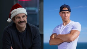 The weekend in TV: It's Christmas for 'Ted Lasso' and time to 'Swim'