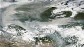 Wildfire smoke reaches North Pole for 1st time in recorded history