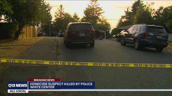 Man shot and killed by Seattle police near White Center