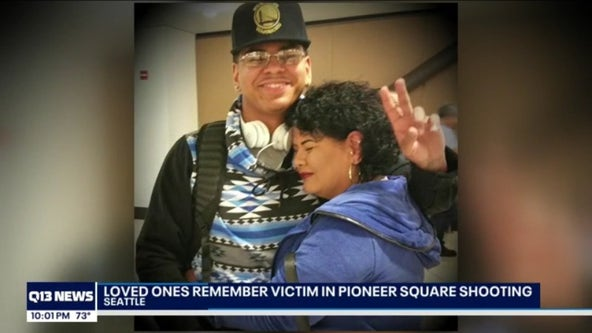 Family and friends remember loved one shot and killed in Pioneer Square