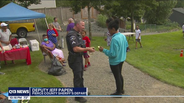 Deputies work to build relationships with community in Pierce County on National Night Out