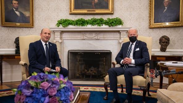 Biden tells Israeli Prime Minister Naftali Bennett diplomacy is priority in Iran nuclear deal