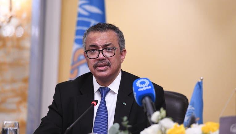 WHO Director general Tedros Adhanom Ghebreyesus in Kuwait