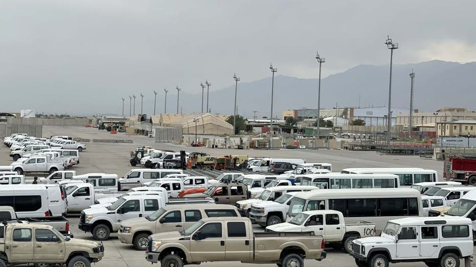 Foreigner military left Bagram airbase