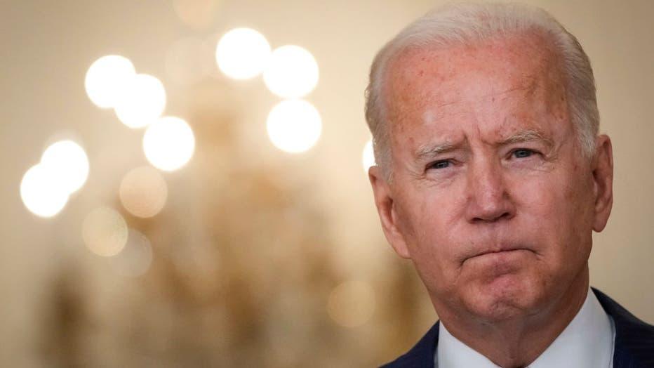 President Biden Addresses The Nation After Explosions Rock Kabul