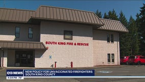 Unvaccinated firefighters in south King County won't be allowed to provide care to patients