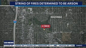 Police investigating multiple fires intentionally set in Seattle's Ravenna neighborhood