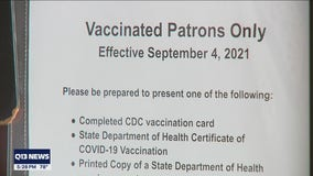 King County executive says vaccine verification policy in the works for non-essential businesses, venues
