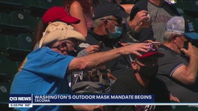 Most fans at Tacoma Rainiers game comply on first day of state's outdoor mask mandate