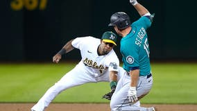 Seager's three RBIs help Mariners stop A's 5-game win streak