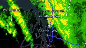 One Hit Wonder: Thunderstorm produces exactly 1 lightning strike in Seattle