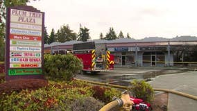 Fire that damaged all 14 businesses in Edmonds plaza being investigated as arson
